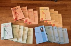 Nice Lot of 15 Piano Books Beethoven Brahms Mozart Haydn Classics New in Fairfield, California