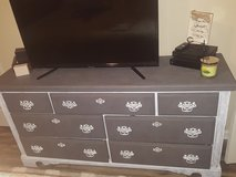 Set dresser and night stands in Fort Polk, Louisiana
