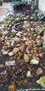 Landscaping River Rocks in Kingwood, Texas