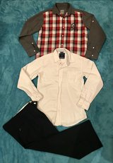 Like New Nautica, Drill Boys Size 10/12 Set of Casual to Dressy Clothes in Okinawa, Japan