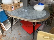 Vintage chrome retro table in Camp Lejeune, North Carolina