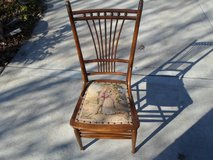 Antique Needle Point Chair in Chicago, Illinois