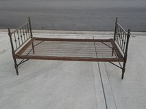 Antique Collapsible Bed Frame in Yorkville, Illinois