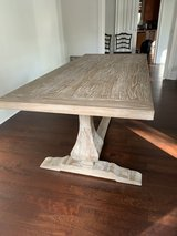 beautiful modern farmhouse table in Beaufort, South Carolina