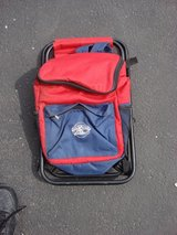 HOLLYWOOD CASINO BACKPACK CAMPING STOOL in Naperville, Illinois