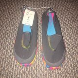 New with Tags! Comfortable Girls Slip On Sport Shoes Sz 4 in Westmont, Illinois