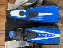 Aqualung Technisub Dive Fins in Okinawa, Japan