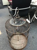 Antique large bird cage in Okinawa, Japan