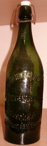 Vintage 1920s REGENSBURG 1-Liter Beer Bottle in Grafenwoehr, GE