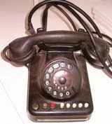 Vintage 1950s German Rotary Telephone in Grafenwoehr, GE