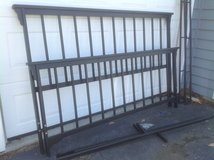 King Wrought Iron Bed in Naperville, Illinois