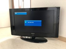 "Samsung 32"" TV w/ remote and wall mount in Okinawa, Japan"