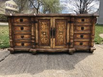 Large Solid Wood Painted Buffet in Fort Belvoir, Virginia