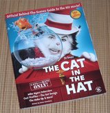 Vintage 2003 Dr Seuss The Cat in the Hat Official Behind the Scenes Guide Soft Cover Book in Plainfield, Illinois