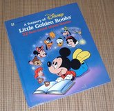Vintage 1991 A Treasury of Disney Little Golden Books 22 Best Loved Stories Over Sized Hard Cover in Plainfield, Illinois