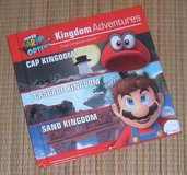 Super Mario Odyssey Kingdom Adventures Hard Cover Book in Plainfield, Illinois