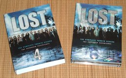 Lost Season 4 The Expanded Experience DVD 6 Disc Box Set in Morris, Illinois
