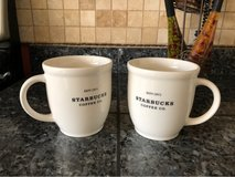 Starbucks Coffee Mugs (2) in Fairfield, California