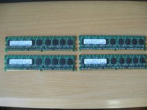 1 Gigabyte PC2 5300E Memory (4 count) in Kingwood, Texas