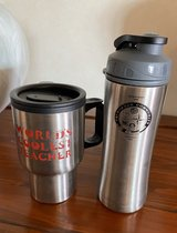 Stainless Steel Drinking Cups and bottles in Okinawa, Japan