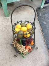 Metalwork  vegetable/fruit basket in Alamogordo, New Mexico