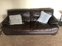 Leather couch from England in Alamogordo, New Mexico