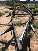 76' Steel Frame in Alamogordo, New Mexico