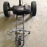 Caddy 1 Remote control golf trolley/W new lithium ion battery in Ramstein, Germany