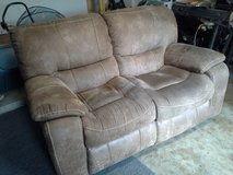 Clean/Presentable. Real Leather, Love Seat in The Woodlands, Texas