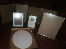 Vintage gold picture frames in The Woodlands, Texas