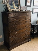 Quality 7 drawer solid Oak Dresser in Camp Pendleton, California