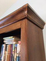 Medium wood 5 shelf bookcase in Camp Pendleton, California