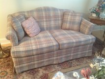 Matching sofa and loveseat in Naperville, Illinois