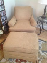 Chair and Ottoman in Naperville, Illinois