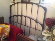Full Size Wrought Iron Bed in Naperville, Illinois