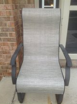 Pair of outdoor chairs/rocker in Oswego, Illinois