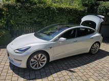 2019 Tesla Model 3 performance in Ansbach, Germany