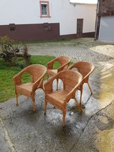 ikea chairs in Ramstein, Germany