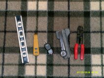 """A New 12""""-empire level,(  NEW ) greenlee outlet tester, a ( NEW )  harris dracon inpact tool, wi... in Yorkville, Illinois"""