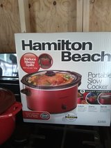 Hamilton Beach New slow cooker in Beaufort, South Carolina