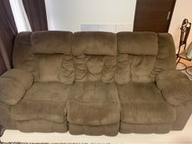 3 part reclining Sectional/ Couch in Okinawa, Japan