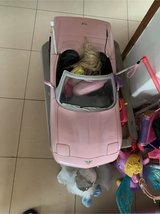Barbie remote control car in Okinawa, Japan