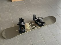 K2 162 wide Select Snowboard and bindings in Spangdahlem, Germany