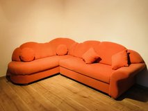 Fabulous Style Quality Terracota Sectional Storage Sofa Bed in Ramstein, Germany