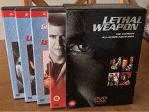 Lethal Weapon DVD Box Set in Lakenheath, UK