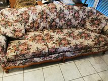 Great Gatsby inspired FloralDesign couch and loveseat in Ramstein, Germany