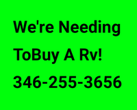 I'm Looking to buy a Rv in Bellaire, Texas