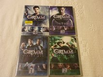$12 · GRIMM DVD SET - ALL 4 SEASONS $12 in Naperville, Illinois