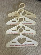 American Girl Doll Clothes Hangers - Set/4 Cream in Westmont, Illinois