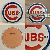 1970s large Chicago Cubs sports pin in St. Charles, Illinois